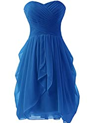 Dress U Womens Ruched Bridesmaid Dres…
