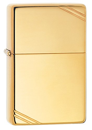 zippo-vintage-high-polish-brass-pocket-lighter-with-slashes-pocket-lighter