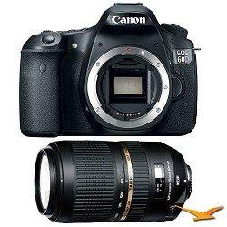 Canon EOS 60D 18 Megapixel SLR Digital Camera AF 70-300mm Tamron Lens