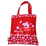 Peppa Pig Cosmic Flowers Tote Bag Red, Shopper