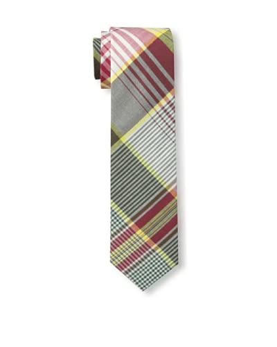 Gitman Vintage Men's Multi Plaid Tie, Red