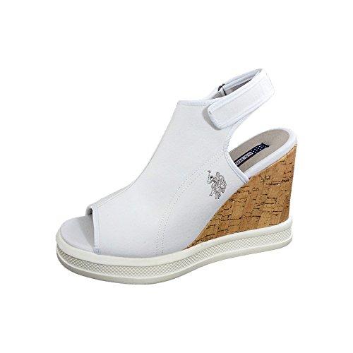 U.S. Polo ASSN. - Shoes - Scarpe Donna, Sandali con Tacco in Sughero