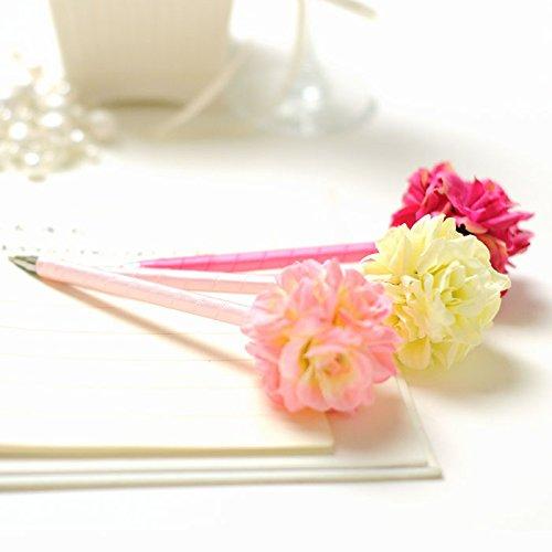 ファルベ フラワーペン(花ペン)3本セット〈ホワイト&ベビーピンク&ローズピンク〉 /結婚式