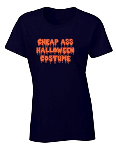 Women's Halloween Shirt Spooky Ghost T-shirt Cheap Ass Halloween Costume