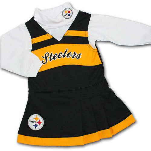 Pittsburgh Steelers Infant Black Jumper & Turtleneck Set (18 mos) at Amazon.com