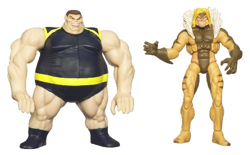 Buy Low Price Hasbro Wolverine Deluxe Action Figures – SABERTOOTH with BLOB LAUNCHER (B0028Y5STE)