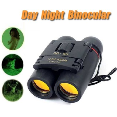 30x60 Folding Bionocular Telescope with Night Vision - Style Random