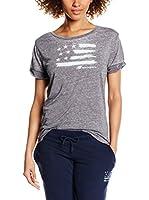 ZZZ-New Balance Camiseta Manga Corta (Gris)