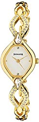 Sonata Sona Sitara Analog White Dial Womens Watch - NF8063YM03