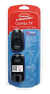 Hahnel Combi TF Pro 2.4 GHz Timer/Remote Control for Canon DSLR Cameras and Flash' 300' Range