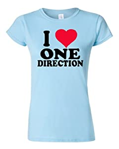 I Love One Direction Ladies T-shirt