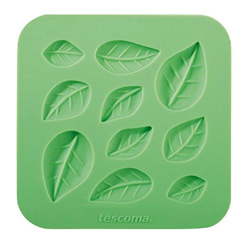Tescoma 633034 Stampo in Silicone per Pasta di Zucchero, Foglioline