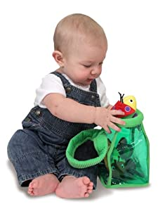 Melissa & Doug Deluxe Bug Jug Fill & Spill Soft Baby Toy