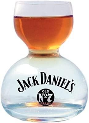 Jack Daniel's Whiskey On Water Glass