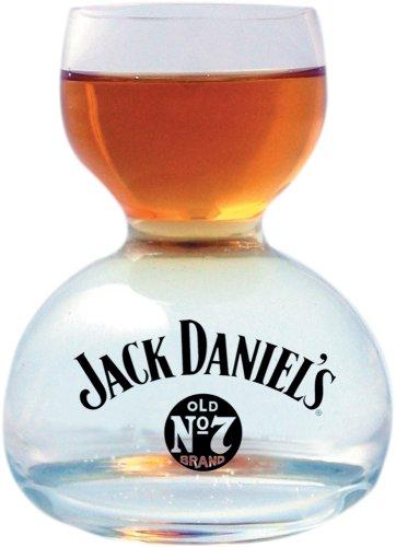 Jack Daniel?s Whiskey On Water Glass