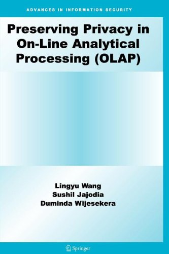 Preserving Privacy in On-Line Analytical Processing (OLAP)
