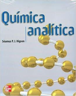 Quimica analitica (Spanish) Paperback – 2010