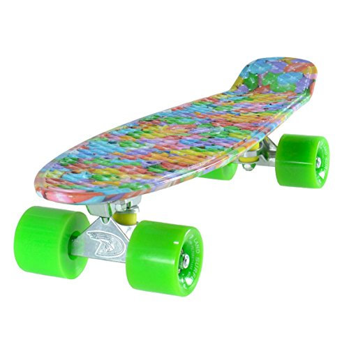 cruiser-skateboard-22-inch-candy-board-solid-green-wheels