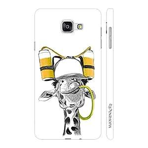 Enthopia Designer Hardshell Case Drunken Giraffe Back Cover for Samsung Galaxy A7(2016)