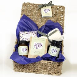 Fruits of Nature Bluebell Basket-Luxury Bluebell Basket