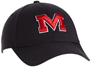 New Era Mississippi Old Miss Rebels Flex Fit Cap, Large/X-Large (Navy)