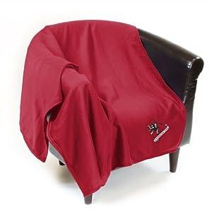 Alabama Crimson Tide Official Sweatshirt Throw by Logo Chair Inc. by Logo Chair Inc.