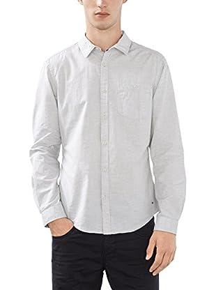 edc by ESPRIT Camisa Hombre (Gris)
