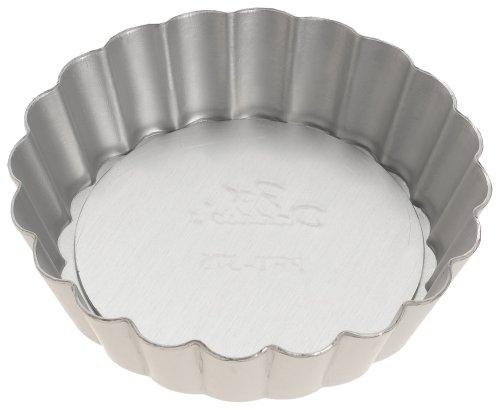 Fat Daddio's 3 3/4-Inch Removable Bottom Mini Tart Pan