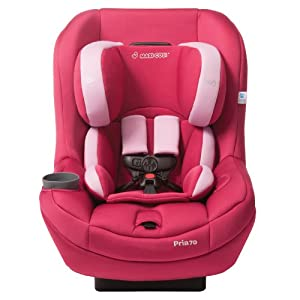2014 Maxi Cosi Pria 70 Convertible Car Seat, Sweet Cerise (Prior Model)