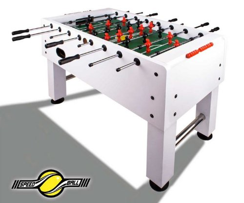 Speedball Tischkicker Premium Kickertisch in Profi Turnier Ausführung – Limited Weiß jetzt kaufen