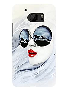 TREECASE Designer Printed Hard Back Case Cover For HTC One M10