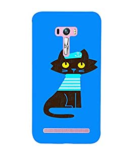 EPICCASE Captain Cat Mobile Back Case Cover For Asus Zenfone Selfie (Designer Case)