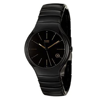 Rado Men's R27857152 True Analog Display Swiss Automatic Black Watch
