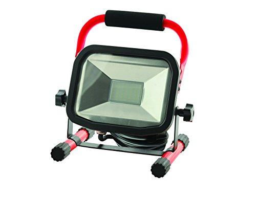 LUCECO-Ultraflacher-LED-Baustrahler-30-W-mit-Stnder-1800-lm-5000-K-IP65-geschtzt-Energieeffizienzklasse-A-1-Stck-LSW30BR2-EU