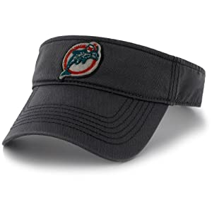 Men's '47 Brand Miami Dolphins Greyhound Visor Adjustable