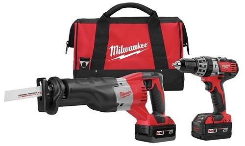 Milwaukee 18 Volt Tools front-93428