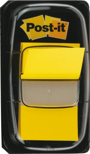 post-it-4651-segnapagina-formato-medium-680-dispenser-da-50-giallo