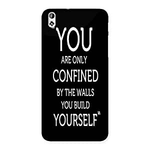 AJAYENTERPRISES You Yourself Back Case Cover for HTC Desire 816s