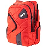 Powerbag Deluxe Back Pack Designed by ful with Battery for Charging Smartphones, Tablets and eReaders - Red (RFAP-0083F)