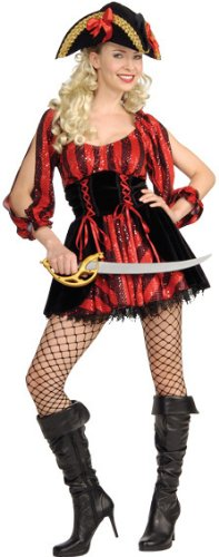 Rubie's Costume Sea Queen Naughty Pirate Costume
