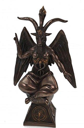 Figura del Baphomet 24cm statuetta Satan diavolo