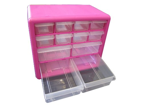 The Original Pink Box PB12SPB 12 Drawer Parts