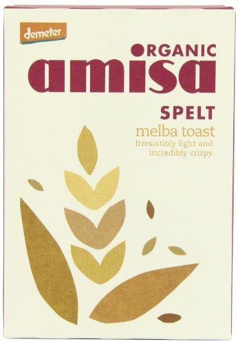 Amisa Organic Spelt Melba Toasts 200 g (Pack of 6)