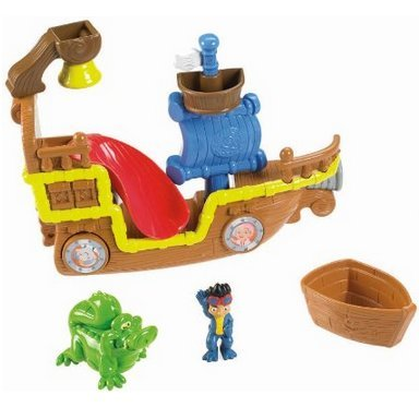 Game / Play Fisher-Price Disney'S Jake And The Never Land Pirates: Splashin' Bucky Bath Item, Toys Toy / Child / Kid