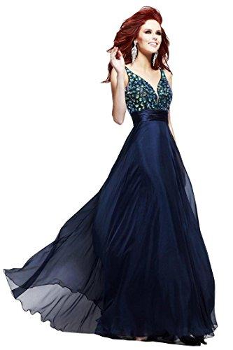 Nymph Dress Prom Dresses Formal Dresses Deep V-Neck Sleeveless Evening Dress