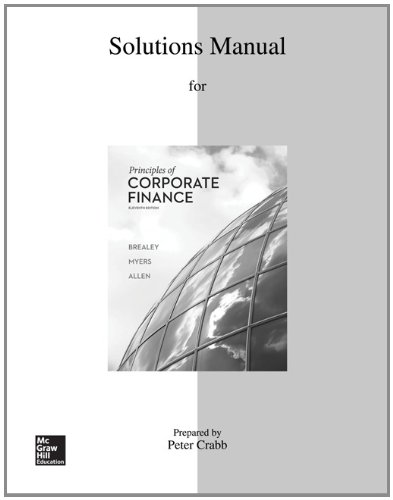end of chapter solutions corporate finance core principles and applications 3rd edition joe smolira Solution manual for fundamentals of financial management, concise edition, 7th edition by eugene f brigham table of contents 1 an.