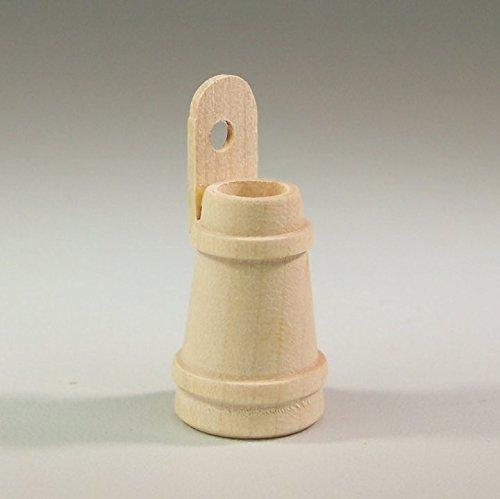 Butterfass aus Holz natur belassen. 3cm. Weihnachtskrippe. W241.