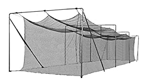 Cimarron Outdoor Sports Gaming Accessories 70x14x12 Rookie Batting Cage and Frame by Cimarron Sports