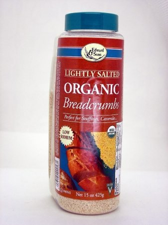 Edward & Sons Lightly Salted Organic Breadcrumbs -- 15 oz Each / Pack of 6 at Sears.com