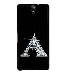 Alphabet A 2D Hard Polycarbonate Designer Back Case Cover for Sony Xperia C5 Ultra Dual :: Sony Xperia C5 E5533 E5563